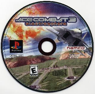 Screenshot Thumbnail / Media File 1 for Ace Combat 3 - Electrosphere [U]